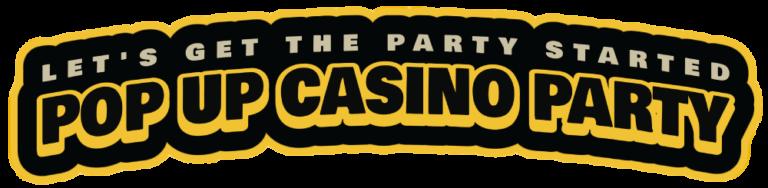 pop up casino party Sacramento