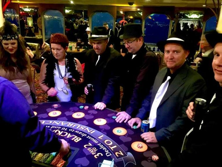 Have a Pop Up Casino Party in Sacramento, California